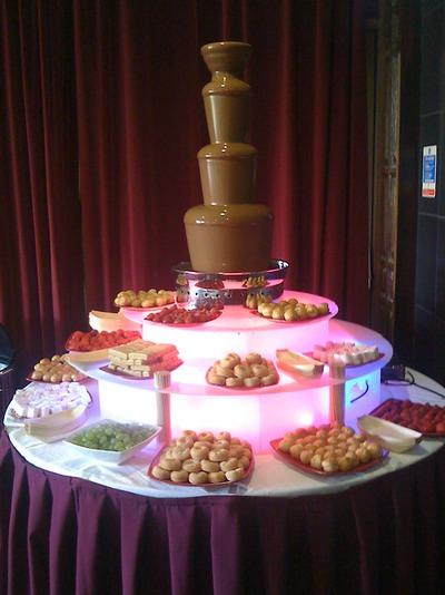 Chocolate Fountain Hire Rental Johannesburg