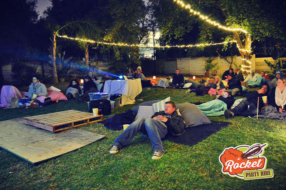 Hire an Outdoor Cinema
